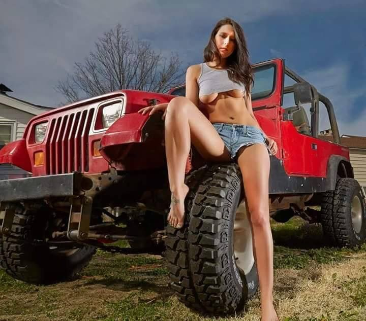 Jeeps and nude babes remarkable, the