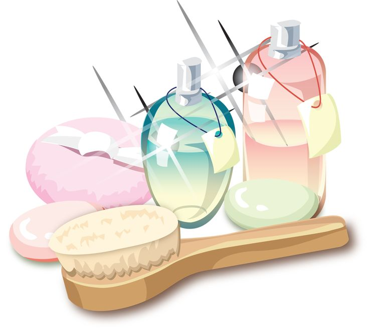 Spa Day Clip Art Beauty Products Bathrooms Therapy Drawings Cosmetics Illustrations