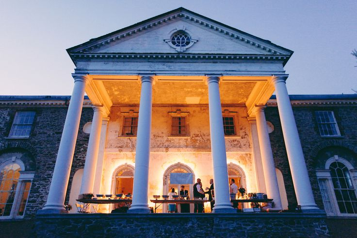 Evening on the Portico - photo by Lisa Beth Anderson