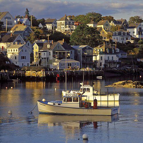 Southern maine coastal towns prettiest lobster fishing for Lobster fishing in maine