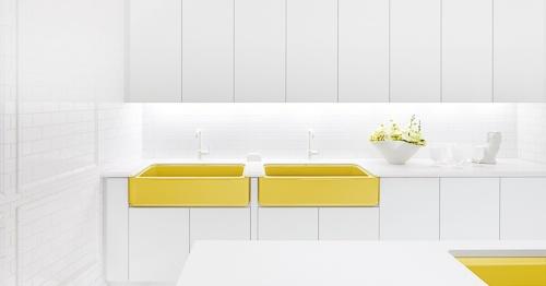 yellow-kitchen-sink