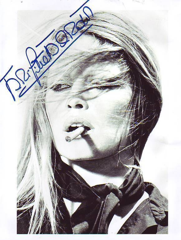 Brigitte Bardot Signed UH Sexy G11 N Original Autogramm | eBay