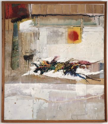 Robert Rauschenberg, Rhyme, 1956