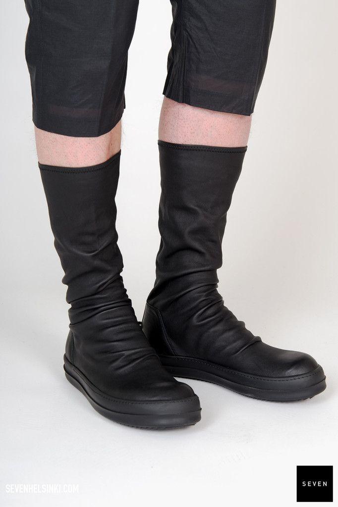 Leather CYCLOPS BIKER Boots Fall/winter Rick Owens Nf9EoL0FWp