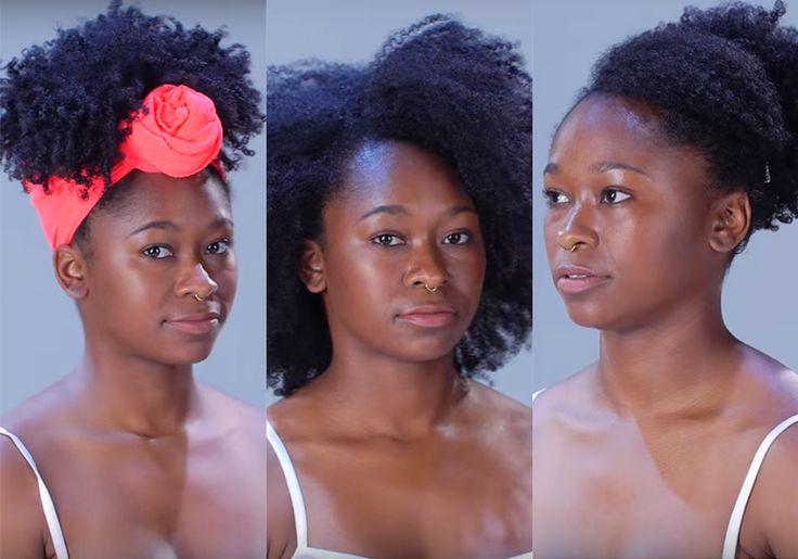 Vídeo: aprenda 11 penteados para cabelos crespos em menos de 2 minutos
