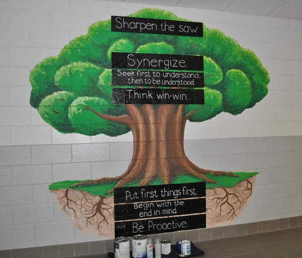 17 best ideas about 7 habits tree on pinterest 7 habits for 7 habits tree mural