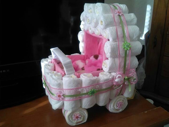 best  diaper stroller ideas on   homemade baby gifts, Baby shower