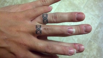 Best 25 Married Couple Tattoos Ideas On Pinterest Tattoo In Finger Ring Finger Tattoos And