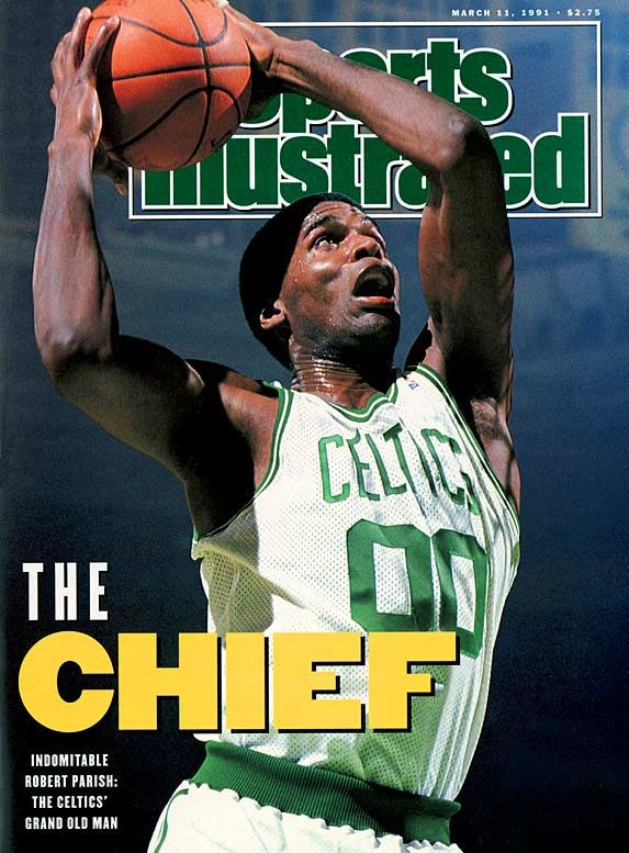 "Robert Parish - Boston Celtics - ""The Chief"""