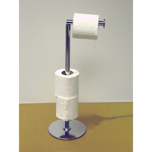 Windisch 89223 By Nameek S Conica Floor Standing Spare Toilet Roll Holder Thebathoutlet Toilet Paper Holder Paper Holder Brass Toilet Paper Holder