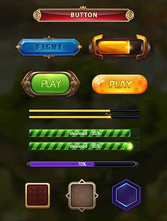 Game UI Elements