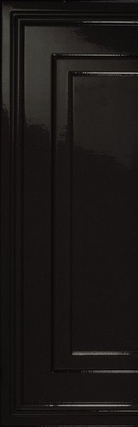 #Settecento #Ermitage Angolo Boiserie Nero 25,5x78 cm 110077 | #Gres #decorati #25,5x78 | su #casaebagno.it a 88 Euro/mq | #piastrelle #ceramica #pavimento #rivestimento #bagno #cucina #esterno