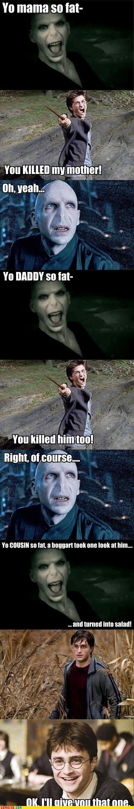 Yoooo ... momma ... (Harry Potter Style)