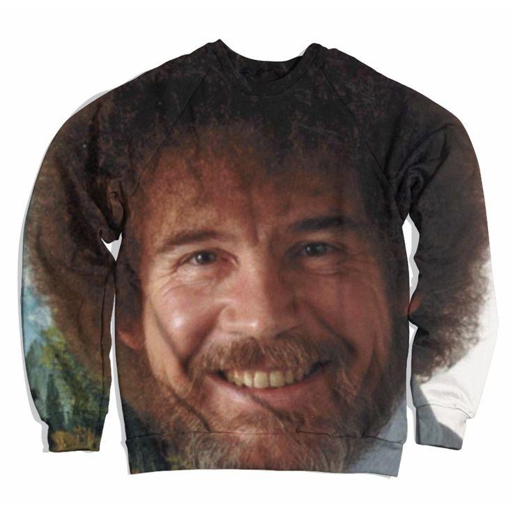 Bob Ross's Face Sweater
