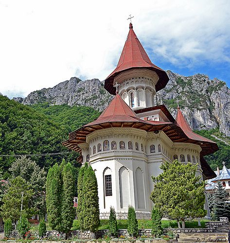Manastirea Râmet. Romania.