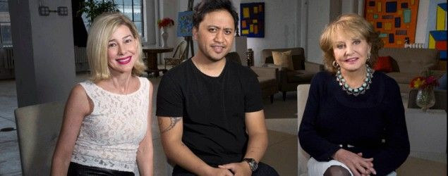 Mary Kay Letourneau, her former sixth-grade student turned husband, Vili Fualaau, and Barbara Walters. (ABC News)