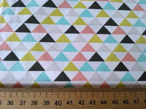 Kolekce Palm beach,barevné trojuhelníky-atest děti