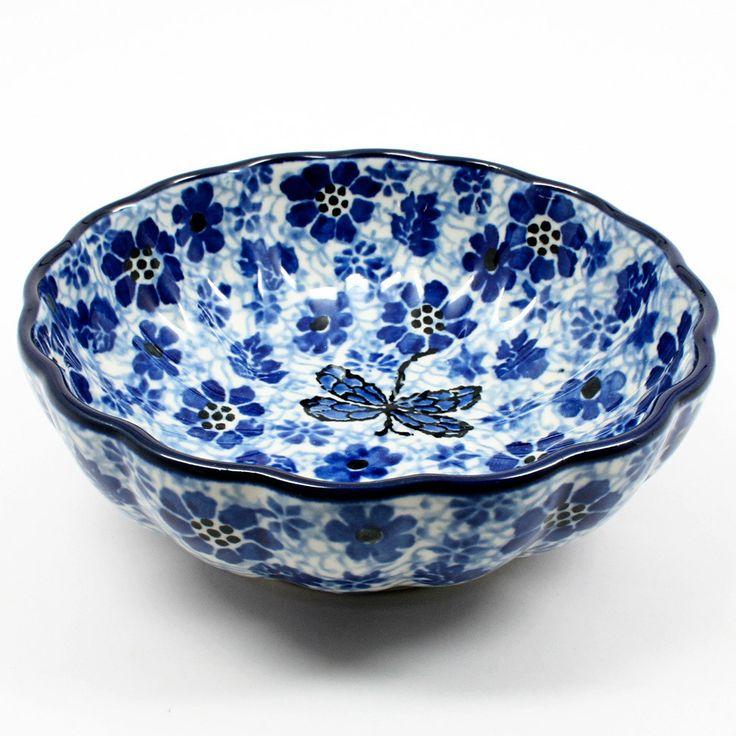 Small Scalloped Bowl #1443