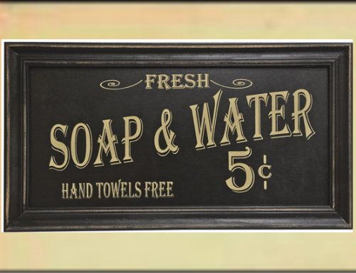 Fresh Soap Water Bathroom Sign Signs Wooden Signs Bathroom Sign Bathroom