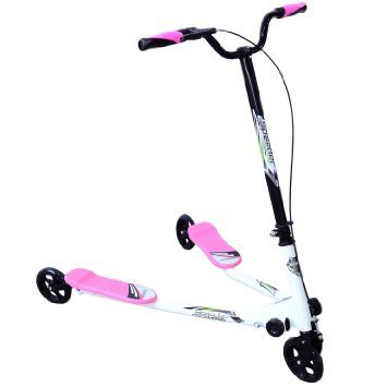 Foldable Scooter For Kids: Before Purchase Must To Consider Other Aspects Homcom Kids 3 Wheels Foldable Speeder Push Scooter Tri Slider Pink Large Type for Age 8+.