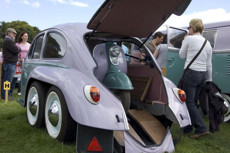 VW Beetle chopped Trailor with Scooter | Das Modified VW | Pinterest | Vw beetles, Beetle and ...