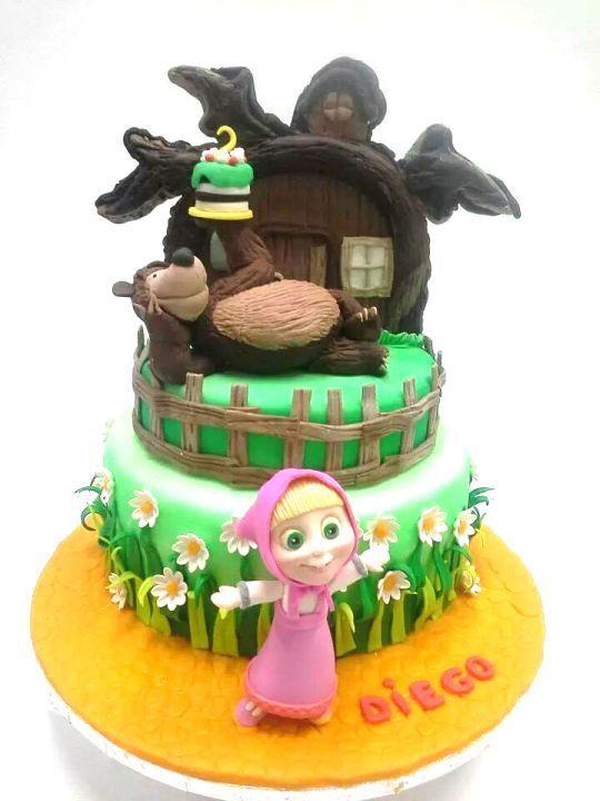 Masha e Orso. Cake