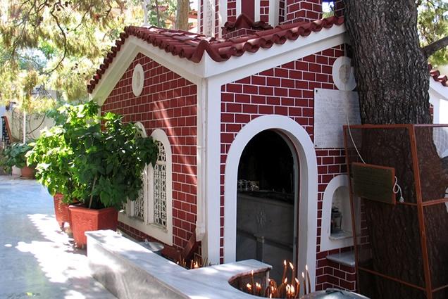 The monastery of Agios Nektarios - culture and religion - Aegina island