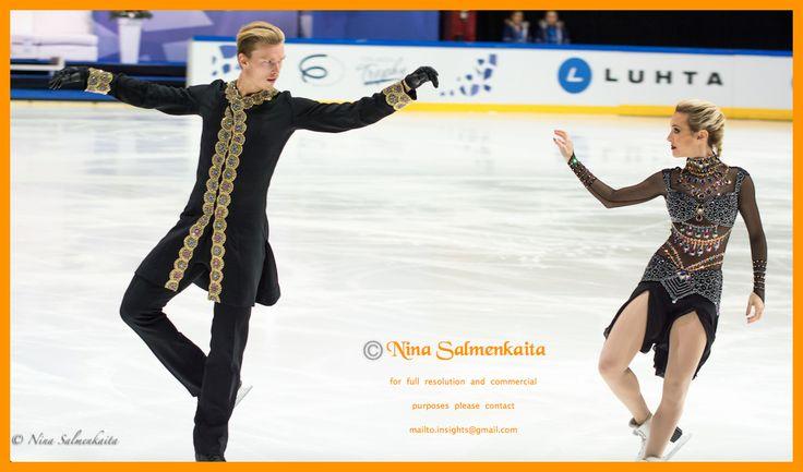 Isabella Tobias & Ilja Tkachenko ISR at Finlandia Trophy October 2015