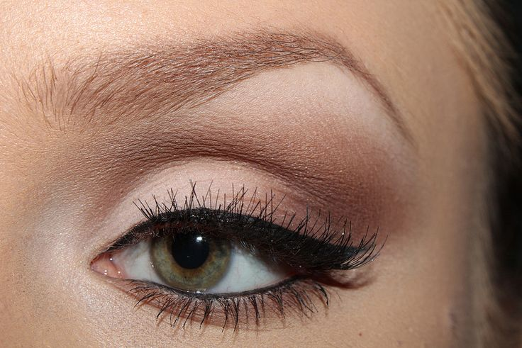 A perfectly executed cut crease using the LORAC PRO Matte Palett.e