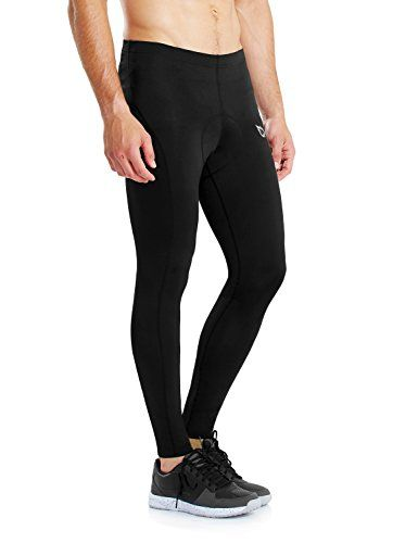 Men's Cycling Tights - Baleaf Mens 3D Padded Ankle Length Cycling Compression Tights *** To view further for this item, visit the image link.