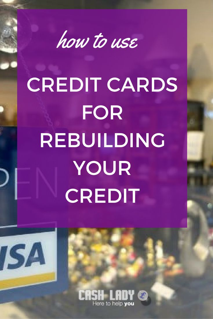 Did you know you can use credit cards to rebuild credit? A credit card can be used to rebuild your credit score in several ways. By applying for the correct type of card and using it responsibly, you will improve your credit history and boost your score.
