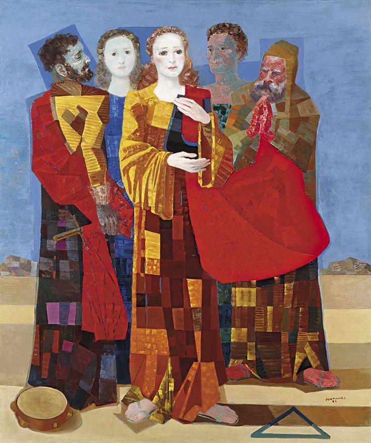 Cândido Portinari (Brodowski, 29 de dezembro de 1903 — Rio de Janeiro, 6 de fevereiro de 1962) foi um artista plástico brasileiro. Portinari pintou quase cinco mil obras de pequenos esboços e pintu…