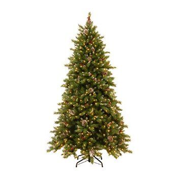 #Christmas Get It Now National Tree 6.5' Snowy Berry Memory Hinged Tree (FRB3-302PD-65M) for Christmas Gifts Idea Deal . Obtaining Christmas Tree immediately coming from a good quality Christmas Tree grower helps you to save valuable getaway period in addition you'll stay away from any frosty, overloaded getaway shrub l...