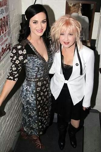 Katy Perry and Cindy Lauper!!!