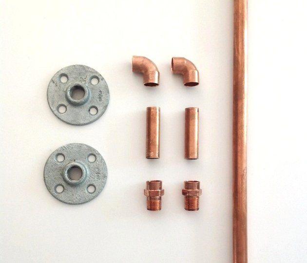 diy curtain holdbacks  diy   Izabella DIY-Curtain Rod Parts I Remodelista