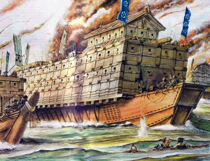 Wayne Reynolds - La segunda batalla de Kizugawaguchi - 1578.