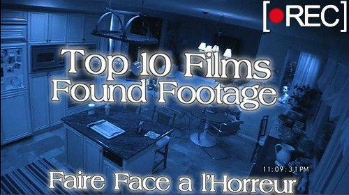 Top 10 Films Found Footage