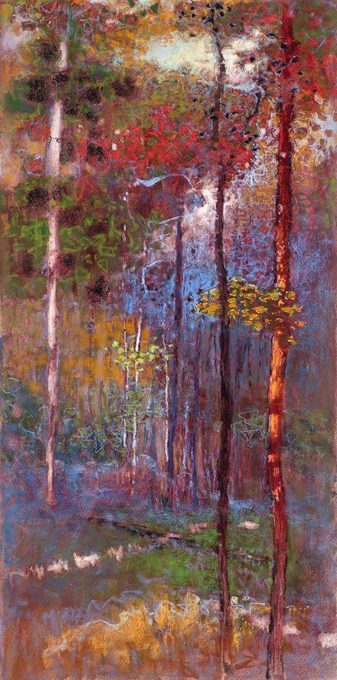 Rick Stevens ,american painter,originally from Sparta, Michigan,  began painting alongside his father who painted plein-air landscapes. Later, he studied art at Rick Kendall College of Art and Design and ultimately received his degree from Aquinas College.