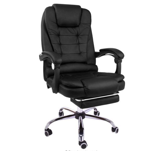 Halter Reclining Leather Office Chair Modern Executive