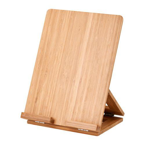 IKEA - GRIMAR, Suporte em bambu para peças couro a vender em feiras. (8,99€)