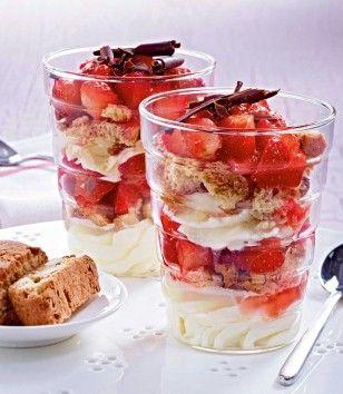 Flottes Erdbeer- Mascarpone-Träumchen