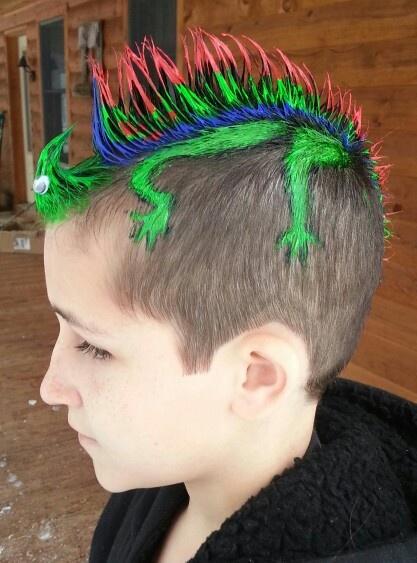 Wacky Hair Day At Sullivan West School Wacky Hair Day At