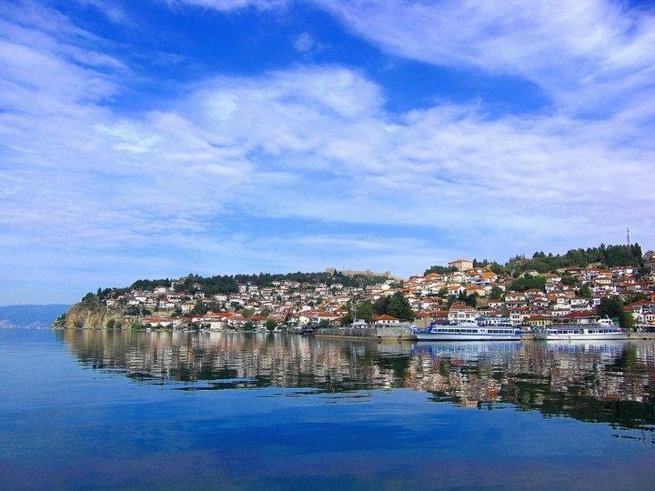 City of Ohrid, Macedonia