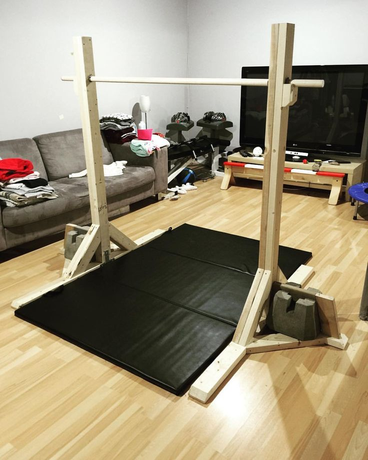 "philip_ywg on Instagram: ""Gymnastics Bar. #diy #rona #homeproject #weekend #panthersgymnastics"""