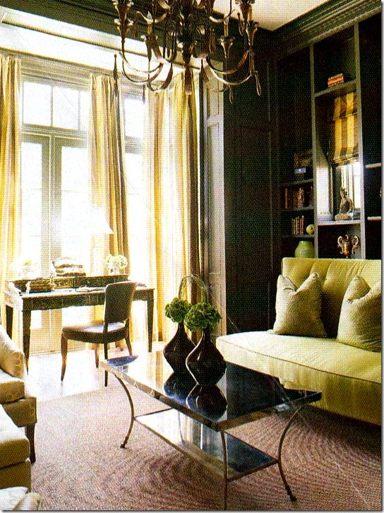 Amy HowardWall Colors, Guest Room, Offices, Bright Room, Green, Wonder Colors, Living Room, Chartreuse Seasons, French Design