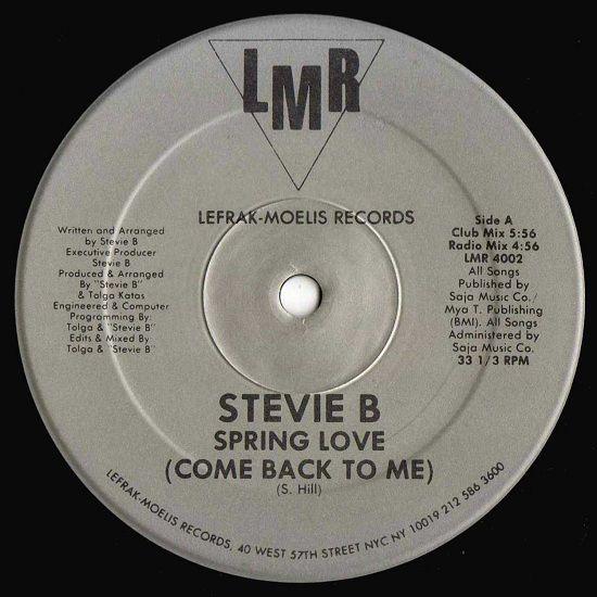 Stevie B - Spring Love (Come Back To Me) - 1988