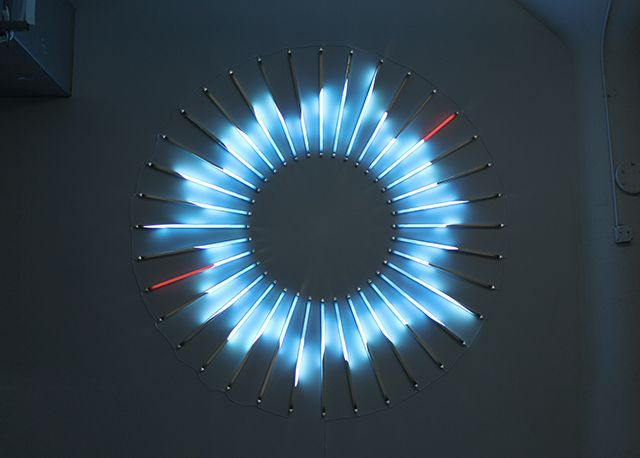 James Clar / One minute dreamstate (1.40 am) #art #installation #light