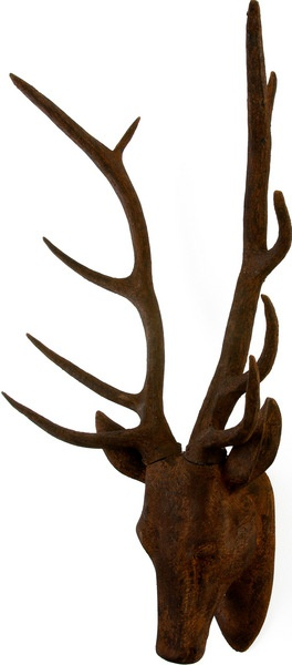 Stag Wall Decor - Rust  $189