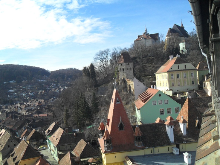 Amazing view in #Sighisoara, Romania. Loved it!