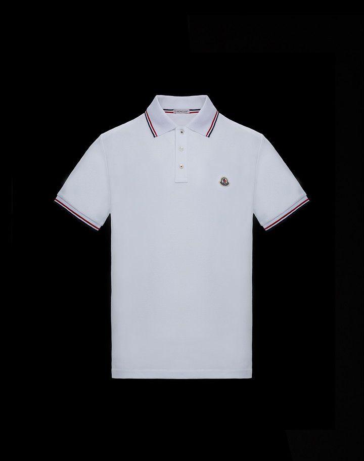 Moncler Polo For Man Polo Shirts Official Online Store Polo Shirt Mens Polo Shirts Pique Polo Shirt
